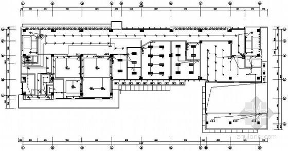 七层综合办公楼室内装修电气施工图纸