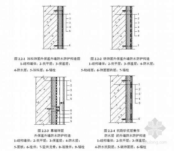 建筑外墙防水施工工艺(2011年 多图)