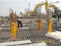 后装可拆式钢抱箍桩柱塔吊基础施工技术