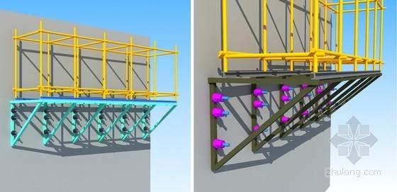 [河北]高层住宅楼可拆三角支撑悬挑脚手架专项施工方案