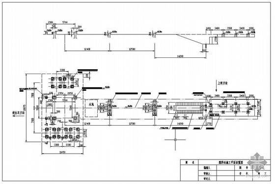 某搅拌站结构设计图(含现场施工照片)