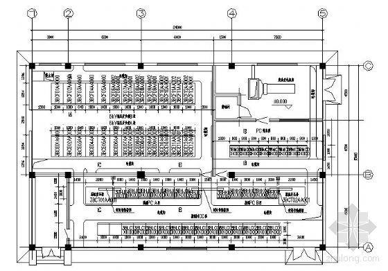 高压变配电设备平面布置图