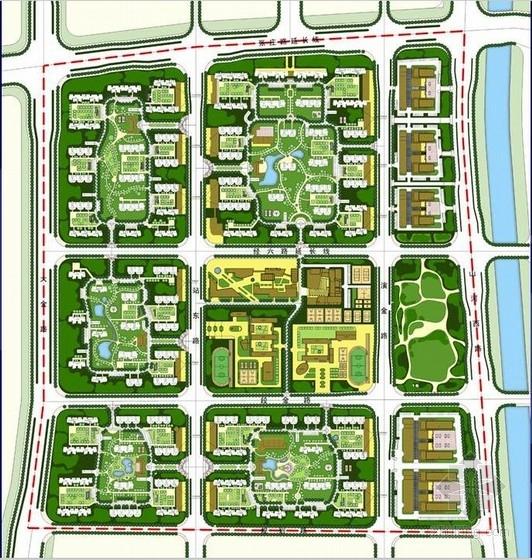 [山东]居住区景观规划概念性设计方案