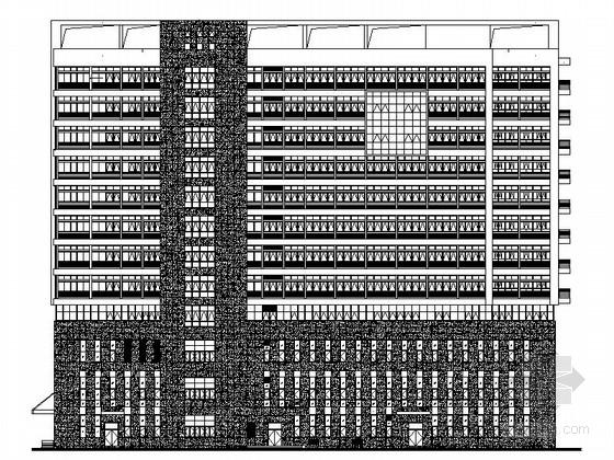 [江苏]某十二层急诊住院综合楼建筑施工图