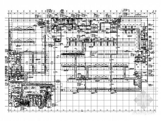 [广东]知名集团厂房及办公楼空调系统设计施工图
