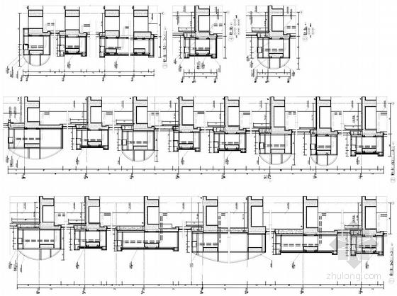 [武汉]超高层百米框架结构办公及会议中心建筑设计方案文本-超高层百米框架结构办公及会议中心建筑详图