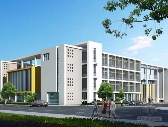 [山东]新建美术学校建筑安装工程量清单计价实例(含完整施工图纸)