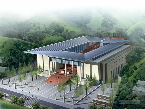 [江西]中国革命历史博物馆建筑设计方案文本(含2个方案)