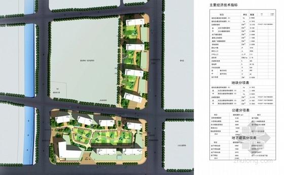 artdeco风格住宅安置小区总平面图