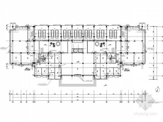 多层行政办公楼采暖通风系统设计施工图