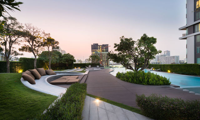 泰国Ceil公寓住宅景观设计_9