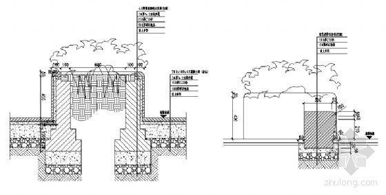 花池剖面节点详图-4