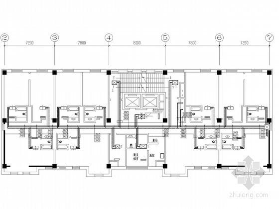 [天津]办公楼供热通风空调制冷系统设计施工图