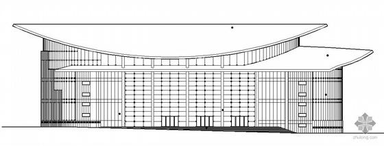 [威海]某国际会议中心市民文化中心建筑工程设计扩初(带模型及效果图)