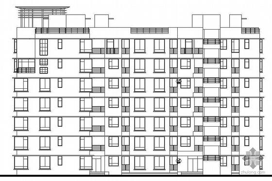 [深圳]某城市花园小区建筑施工图(带效果图)
