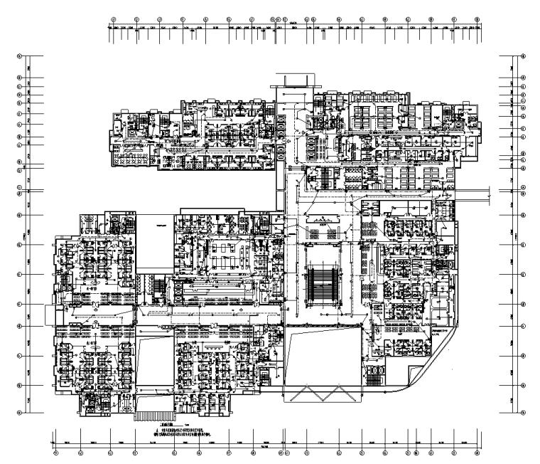 福建医院门诊楼及综合楼电气施工图纸