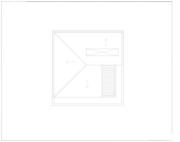 越南胡志明白色方块住宅-24