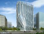 时尚商业建筑3D模型下载