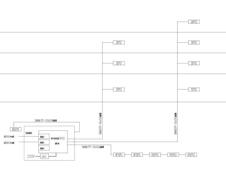 瑞金宾馆电气设计全套50张图纸(含强电与弱电、建筑、结构)_1