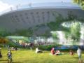 """[江苏]""""山水环城""""大型综合体生态公园景观设计方案(附高清汇报视频)"""