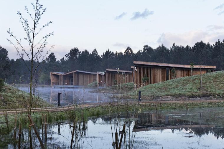 法国风景如画的生态酒店-2