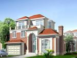 3层独栋欧式风格别墅建筑设计(包含CAD)