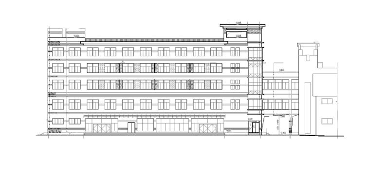 五层长沙祥美大酒店建筑施工图(全套图纸)