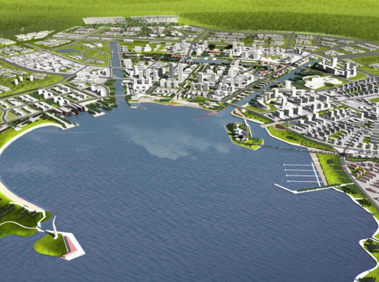 [辽宁]大连小窑湾国际商务区环境景观方案设计(PDF+10页)