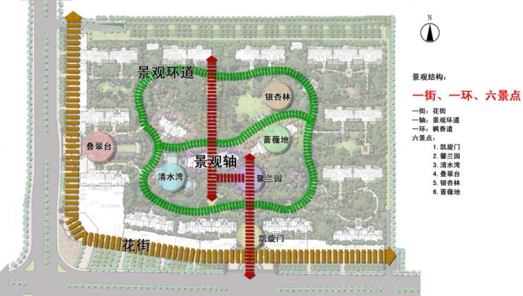 [福建]建发龙郡景观概念方案设计文本(新中式)A-2景观节点