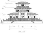 汉代某王阁建筑方案图