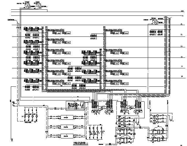 知名酒店暖通空调设计施工图
