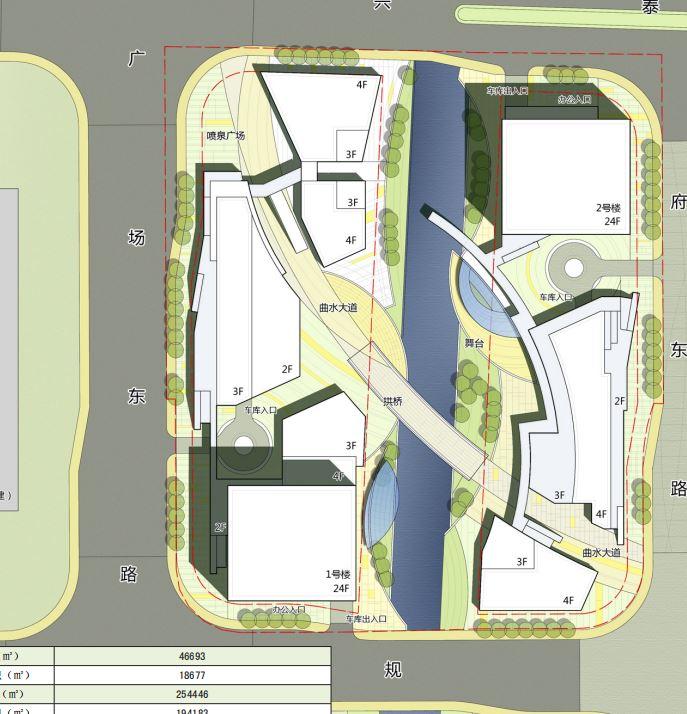 番禺基盛高层商业中心建筑规划设计方案文本(JPG+CAD+PDF)_9