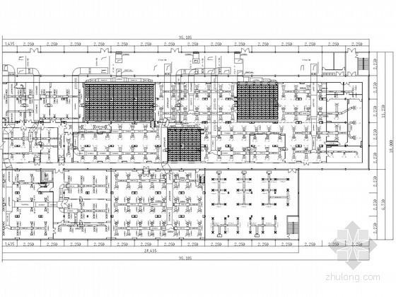 某厂房空调图纸资料下载-某电子厂房净化空调系统设计施工图纸