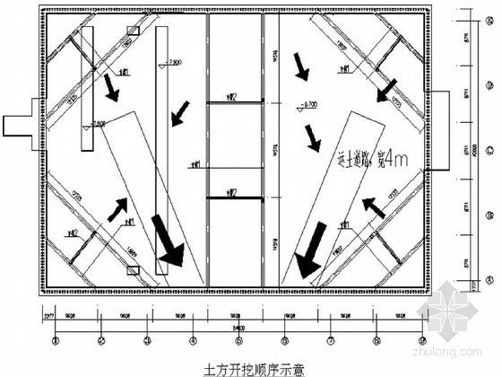 [天津]消防泵站基坑钢板桩支护土方开挖降水施工方案