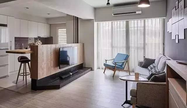 室内装修|客厅太抢眼,电视机竟然还能这样装!