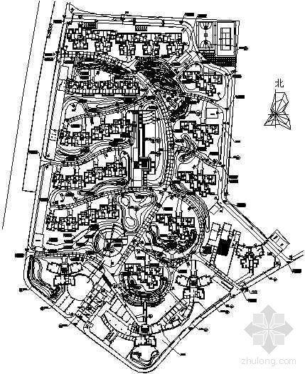 [武汉]小区景观工程园建施工图