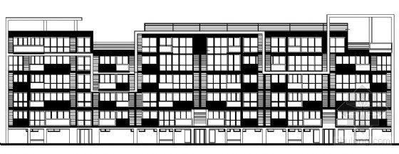 东部花园洋房4栋住宅楼建筑施工图