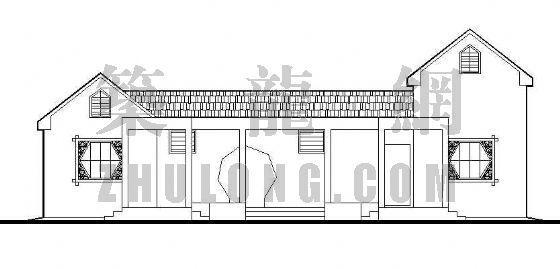 管理房及厕所建筑施工图