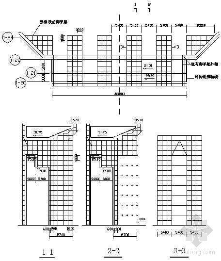 长春市某政府新建办公楼工程东西廊满堂脚手架搭设技术交底记录