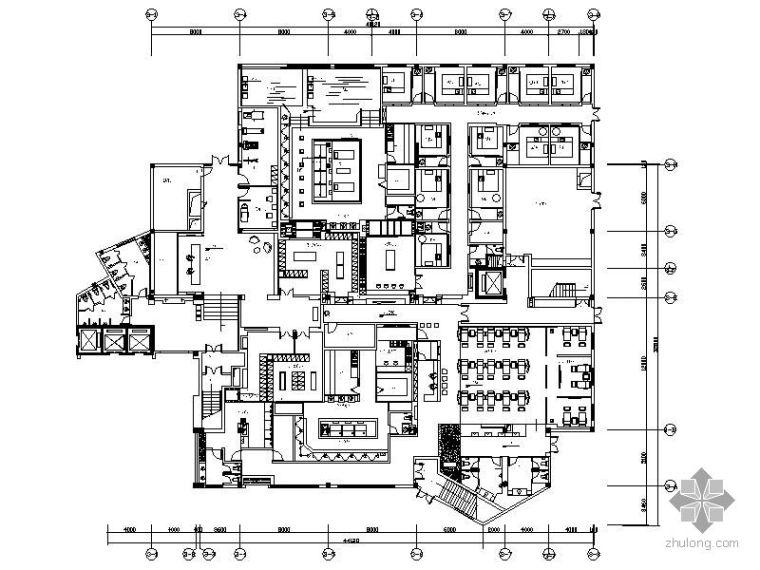 [杭州]某四星级酒店桑拿部装修图