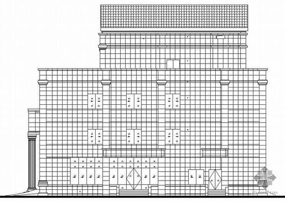 某四层办公楼(七度抗震)建筑施工图