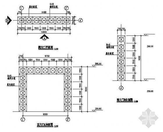 某大门施工图-4