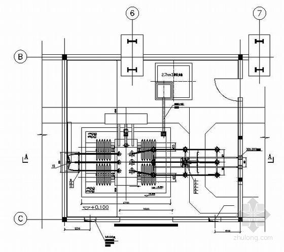 20kv配电所设计资料下载-10KV~20KV升压变电所电气安装图