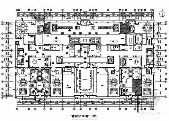[北京]某闽商中式风会所室内装修图(含效果)