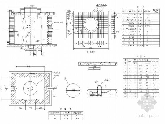 [浙江]市政道路综合通信管道工程施工图设计7张(含预算表)