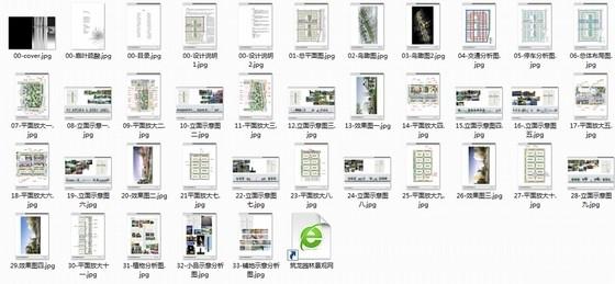 [台州]现代科技商城规划设计方案-总缩略图