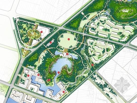 [江苏]滨湖科技城配套区规划及中央景观带概念设计