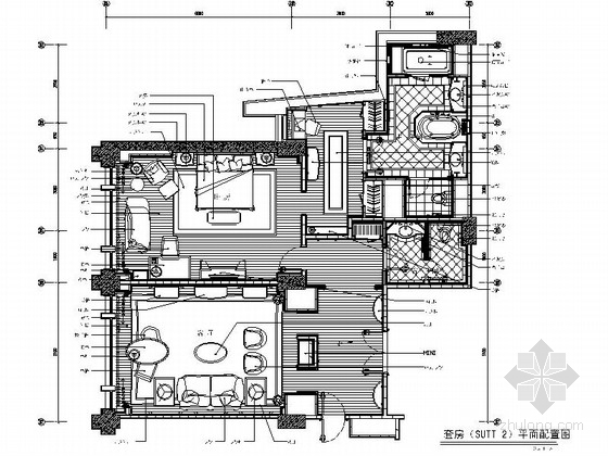 [北京]东四环CBD商业中心现代高级五星级酒店装修施工图