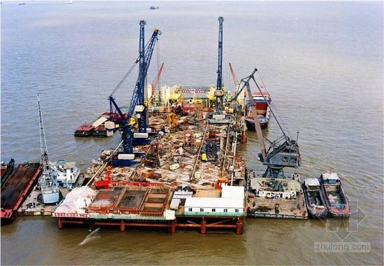 著名跨江大桥超大型群桩基础施工技术(世界最大规模 附图丰富)