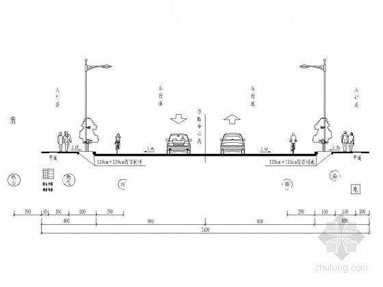 道路工程电缆排管配套工程设计图(20张)